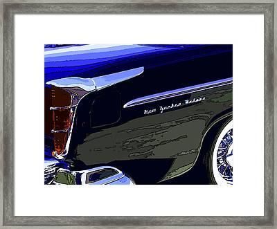 Chrysler New Yorker Deluxe Framed Print by Samuel Sheats