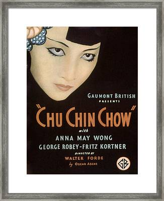 Chu-chin-chow, Aka Ali Baba Nights Framed Print