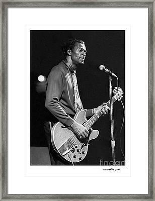 Chuck Berry 3 Framed Print