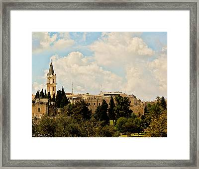Church Framed Print by Amr Miqdadi