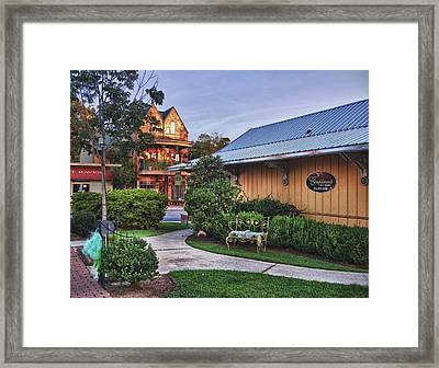 Church And Del La Mare Framed Print by Michael Thomas
