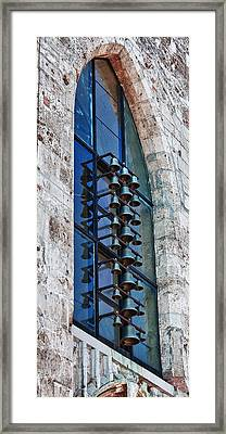 Church Bells Framed Print by Shirley Mitchell