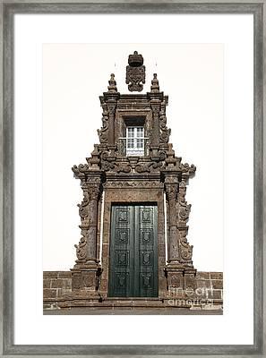 Church Door Framed Print by Gaspar Avila
