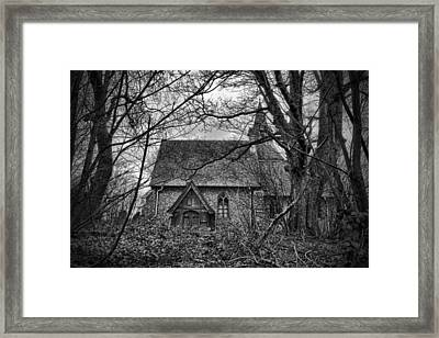 Church In The Woods Framed Print by Dave Godden