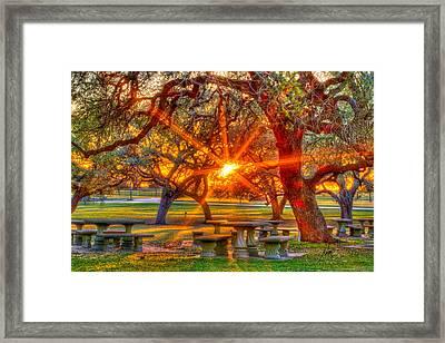 Church Light Framed Print