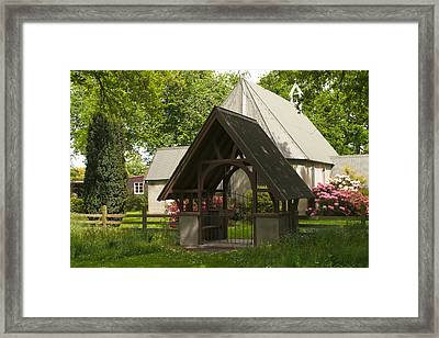 Church Lynchgate  Framed Print by Graeme Knox