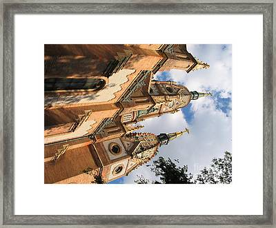 Church Framed Print by Odon Czintos