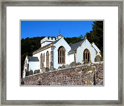 Church Of All Saints In Selworthy Framed Print