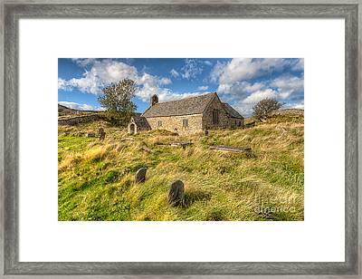 Church Of Celynnin Framed Print