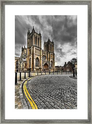 Church Of England Framed Print by Adrian Evans