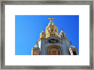 Church Of Light Framed Print