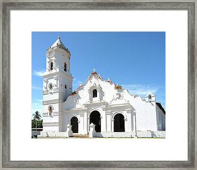 Church Of Nata De Los Caballeros Framed Print