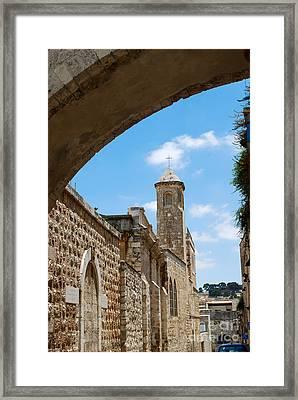 Church Of The Flagellation Jerusalem Framed Print by Eva Kaufman