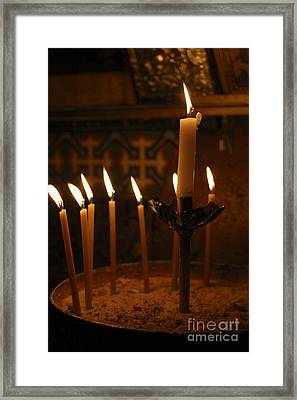 Church Of The Holy Sepulchre Jerusalem Framed Print