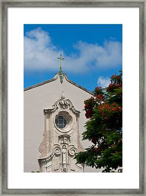 Framed Print featuring the photograph Church Of The Little Flower by Ed Gleichman