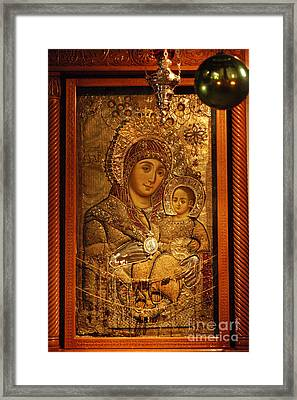 Church Of The Nativity Bethlehem Framed Print by Eva Kaufman