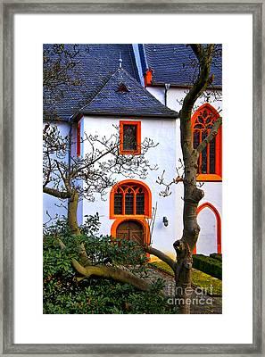 Church On Rhine Two Framed Print by Rick Bragan
