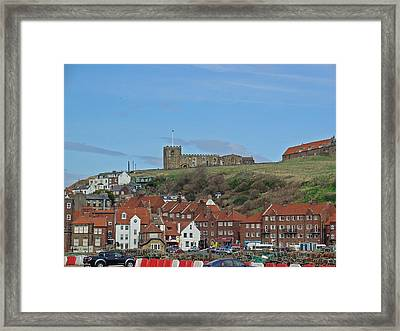 Church On The Hill - Whitby Framed Print by Rod Johnson