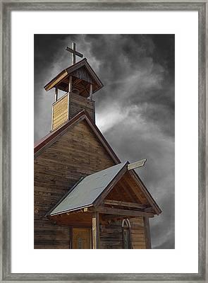 Church On The Mount Framed Print
