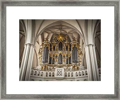 Church Organ Framed Print by Kurt Forschen