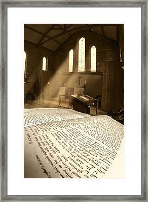 Church, Rosedale, West Yorkshire Framed Print by John Short
