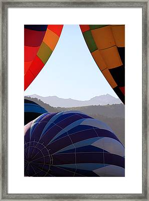 Cimmaron Mountains Framed Print