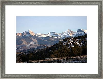 Framed Print featuring the photograph Cimmaron Range by Marta Alfred