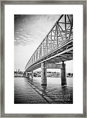 Cincinnati Bridge Taylor Southgate Framed Print