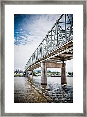 Cincinnati Taylor Southgate Bridge Framed Print