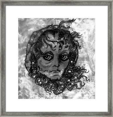 Cinderella - Fairy Godmother Framed Print