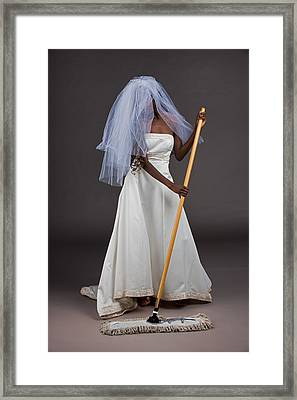Cinderella Bride Framed Print by Jim Boardman
