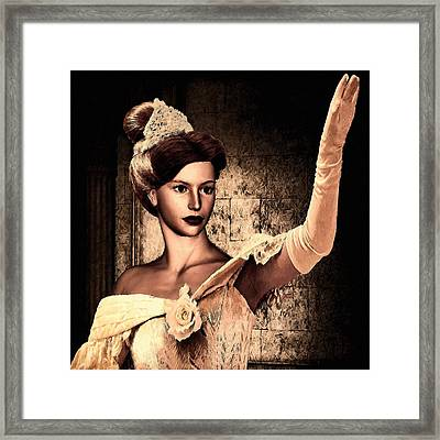 Cinderella Framed Print by Lourry Legarde