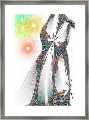 Cinderella's Wedding Night Framed Print by Maria Urso