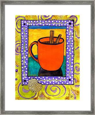 Cinnamon Brew Framed Print