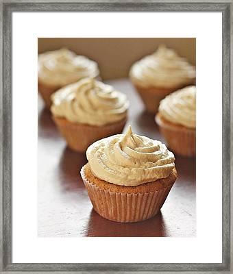 Cinnamon Cupcakes Framed Print