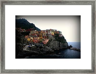 Cinque Terre Framed Print by Kevin Flynn