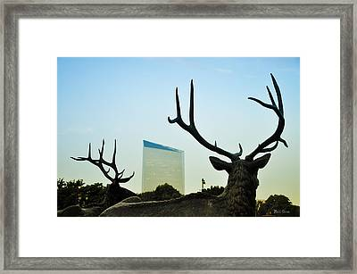 Cira Center From Eakins Oval Framed Print by Bill Cannon
