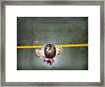 Framed Print featuring the digital art Ciranda by Beto Machado