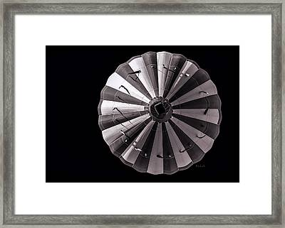 Circle Framed Print by Bob Orsillo
