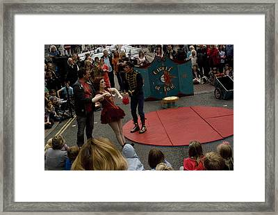 Circle Of 2 No 3 Framed Print by Peter Jenkins