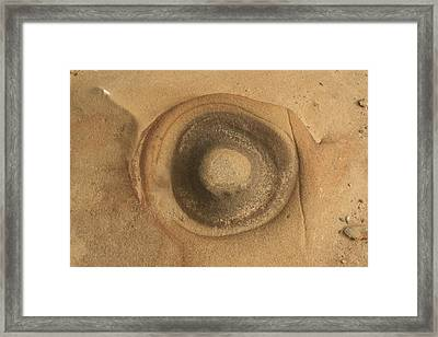 Circle Of Rock Framed Print by Suzanne Lorenz
