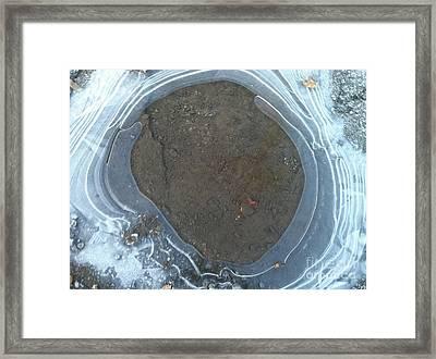 Circling Framed Print