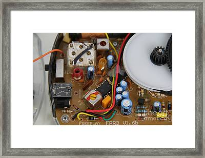 Circuit Boart Framed Print by Photo Researchers, Inc.
