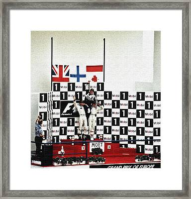 Circuito De Jerez 1997 Framed Print by Juergen Weiss