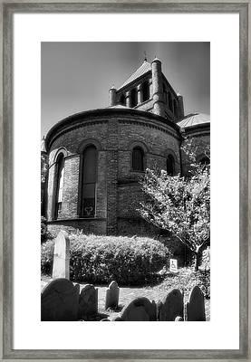 Circular Congregational Church One Framed Print