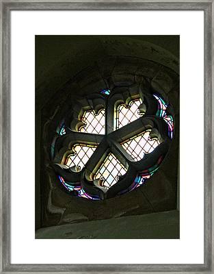 Circular Light Framed Print