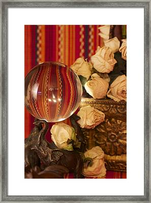 Circus Of The Heart Framed Print
