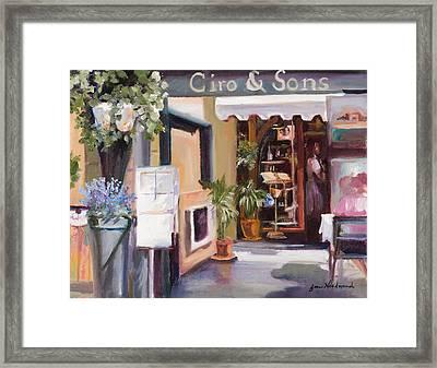 Ciro - Assissi Framed Print