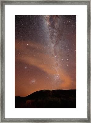 Cirrus Clouds Framed Print by (c) 2010 Luis Argerich
