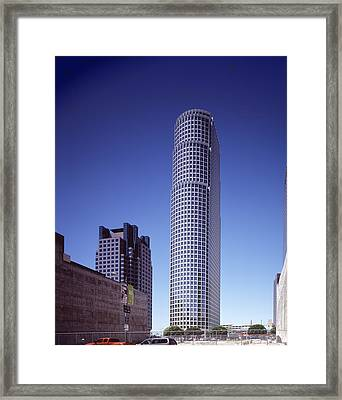 Citicorp Plazas Fifty-three-story 777 Framed Print by Everett